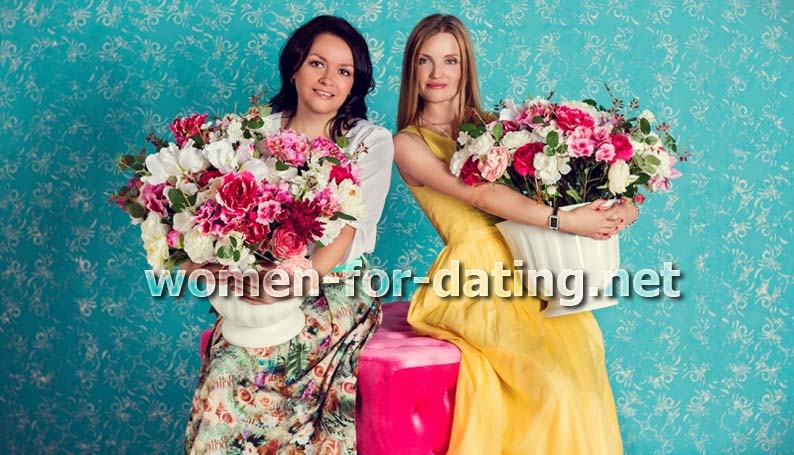 ukrainian women flowers